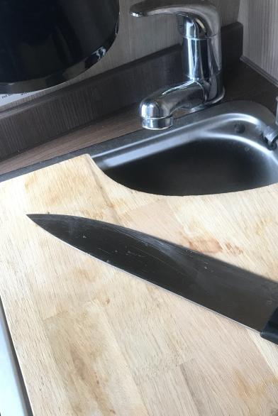 Bjørn lagde bøllebrett som passer til vasken.